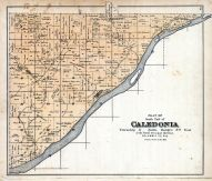 Caledonia - South, Columbia County 1890