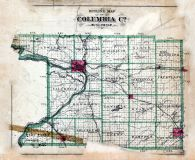 County Outline, Columbia County 1890