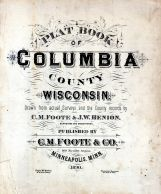 Title Page, Columbia County 1890