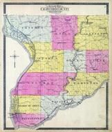 Crawford County Outline Map, Crawford County 1901-1902