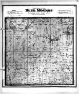Blue Mounds Township, Mt Horeb PO, Barber PO, Dane County 1873