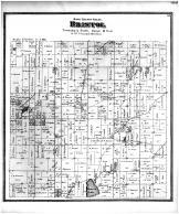 Bristol Township, Brazees Lake, Dane County 1873