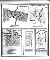 Cambridge, Pheasant Branch, Belleville, Windsor, De Forest, Dane County 1873