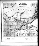 Madison Township, Blooming Grove Township - Left, Dane County 1873