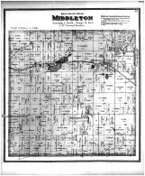 Middleton Township, Pheasant Branach, Middleton Sta, West Middleton PO, East Middleton PO, Dane County 1873