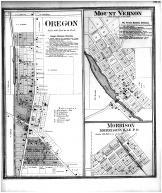 Oregon, Mount Vernon, Morrison, Dane County 1873