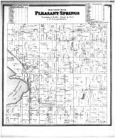 Pleasant Springs, Lake Kegonsa, Dane County 1873
