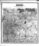 Roxbury Township, River PO, Clifton, Aldens Corner, Dane County 1873