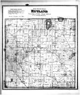 Rutland Township, Island Lake, Dane County 1873