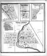 Stoughton, Clifton, Deanville, Cross Plains, Dane County 1873