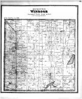 Windsor Township, Morrison, De Forest Station, Windsor PO, Dane County 1873