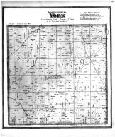York Township, York Center, Dane County 1873