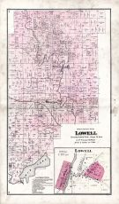 Lowell, Dodge County 1873