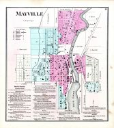 Mayville, Dodge County 1873