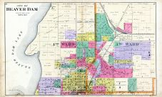 Beaver Dam City - North, Dodge County 1890