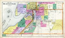 Beaver Dam City - South, Dodge County 1890