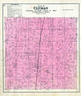 Clyman, Dodge County 1890