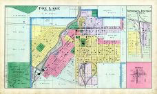 Fox Lake, Minnesota Junction, Knowles, Dodge County 1890