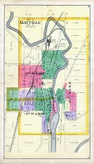 Mayville City, Dodge County 1890