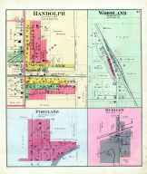 Randolph, Portland, Woodland, Rubicon, Dodge County 1890