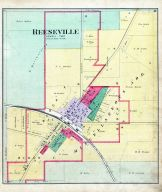Reeseville, Dodge County 1890