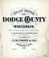 Title Page, Dodge County 1890
