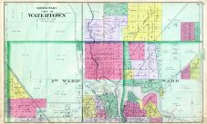 Watertown City - North, Dodge County 1890