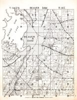 Beaver Dam Township, Dodge County 1950