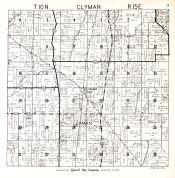 Clyman Township, Dodge County 1950