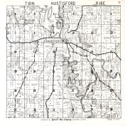 Hustisford Township, Dodge County 1950