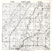 Portland Township, Dodge County 1950