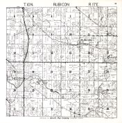Rubicon Township, Dodge County 1950
