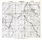 Theresa Township, Dodge County 1950