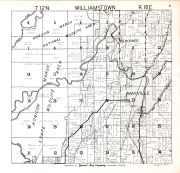 Williamstown Township, Dodge County 1950