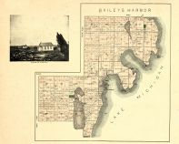 Baileys Harbor Township, Kangaroo Lake, Mud Lake, Door County 1899