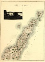 Door County Map, Door County 1899