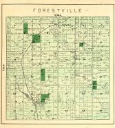 Forestville Township, Mills Pond, Maplewood P.O., Door County 1899