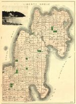Liberty Grove Township, Rowleys Bay, Newport, Lake Michigan, Green Bay, Door County 1899