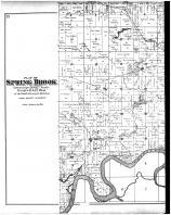Spring Brook Township - Left, Dunn County 1888