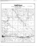 Tiffany Township, Downing, Haystown, Barker, Dunn County 1888