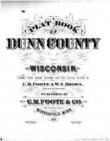 Title Page, Dunn County 1888