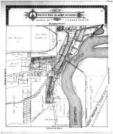 Eau Claire City and Environs, Chippewa River, Chicago- Milwaukee - St Paul RR, Eau Claire County 1910