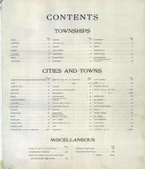 Index Page, Fond Du Lac County 1910