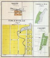 Malone, Eblesville, Amory's Subdivision, Calumet, Fond Du Lac County 1910
