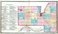 County Map - Business Directory, Fond du Lac 1874