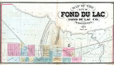 Fond du Lac - City North, Fond du Lac 1874