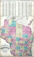 State Map, Fond du Lac 1874