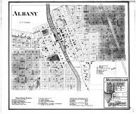 Albany, Monticello, Green County 1873