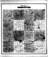Green County Outline Map, Green County 1873