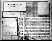 Brodhead - Above, Green County 1891
